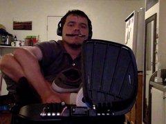 Stripping and vidz Cumming in  super my Wheelchair