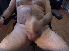 Big Uncut vidz Foreskin Cockring  super Cumshot