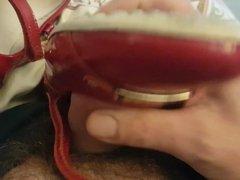 red ballerina vidz flats play1