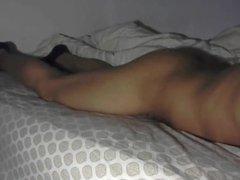 More bed vidz humping and  super cumming Asian