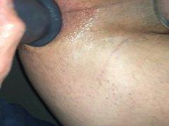 Ass fuck vidz with huge  super dildo, hard and rough