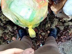 Kocalos - vidz Pissing on  super the garbage