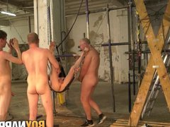 Submissive twinks vidz ass fuck  super with an old pervert in dungeon