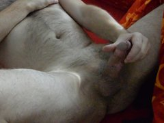 hairy boy vidz with big  super hairy cock masturbat