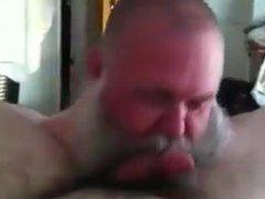 Bearded Dad vidz Sucking Really  super Good