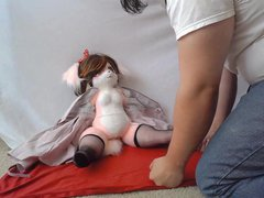Crash Fuck: vidz Kemono Hime  super Animal Princess Plush Doll
