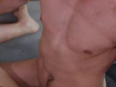 Nerdy Bubble vidz Butt Boy  super gets his Ass Destroyed by Jack Hunter