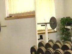 Big Butt vidz Muscle Gay  super on Gym