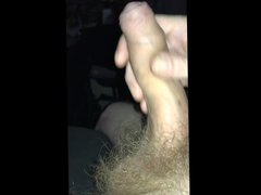 Stroking My vidz Cock 5