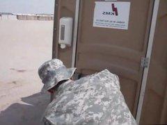 Soldier Caught vidz Wanking