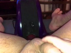 Husband ass vidz horny gets  super fucked by fucking machine his asshole