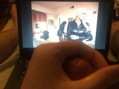 Jerking off vidz and cumming  super to Torrie Wilson and Dawn Marie
