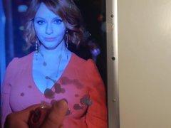 Christina Hendricks vidz Cum Tribute  super 8