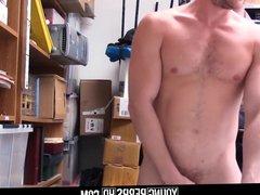 Straight Jock vidz Shoplifter Steals  super Necklace Fucked By Gay Guard