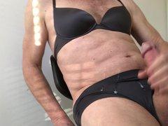 Cum in vidz her panties