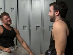 Hairy chested vidz gay men  super enjoy anal - Jack Andy and Adin Smith