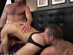 Tight homo vidz cheeks battered  super in raw hunk threeway