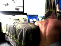 Painter at vidz motel comes  super into my room for some raw ass