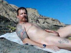 Beach Hard vidz and Masturbating