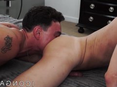 Muscular Cade vidz Maddox fucking  super twink with big cock