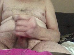 Grandpa Cums vidz On Granny's  super Pink Panties!
