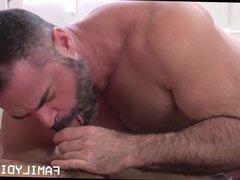 Jock Stepson vidz First Gay  super Sex With Bear Stepdad