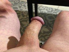 Masturbating small vidz cock