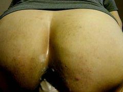 12 inch vidz dildo deep  super in ass.