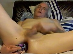 bottle in vidz my ass  super and cock in my hand