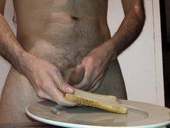 Request video: vidz cum on  super bread and eat