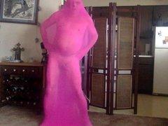 pink pantyhose vidz cocoon