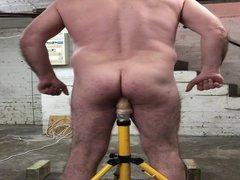 Slave's dildo vidz training