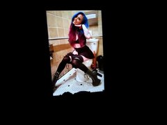 Lilly Moon vidz on a  super toilet cum tribute 5