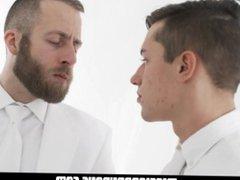 MormonBoyz - vidz Handsome Missionary  super Boy Cums In A Priest's Mouth