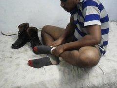 Feet licker vidz boy