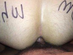 Cum whore vidz faggot fucked  super bareback. BB fag cumdump