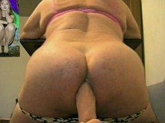 Hot hot vidz anal sex  super big dildo