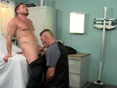 ExtraBigDicks Beefy vidz Male Nurses  super Bareback Anal on the Job