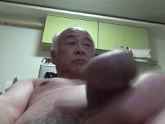 Japanese old vidz man all  super naked self handjob