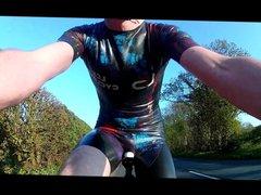 Latex cycling vidz skinsuit 3  super 19