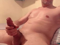 Hot Guy vidz Daddy HUGH  super DICK COCK Jerk Off