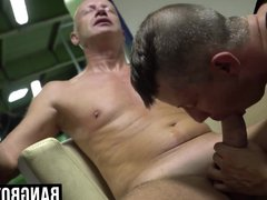 Old man vidz gets his  super mouth filled with cock while getting a BJ