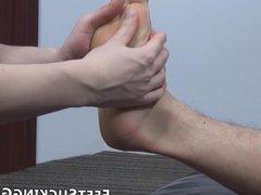 Gorgeous twink vidz sucks his  super partners toes after smelling pants