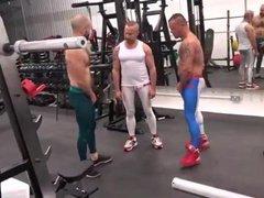 Gym class vidz threesome