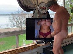 Reflects Shows vidz Her Teasing  super Tits!
