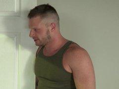 Muscle Guys vidz Having Anal  super Threesome