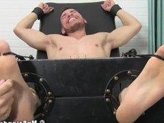 Bound jock vidz endures relentless  super tickling torment
