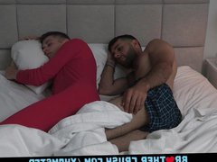Sweet Boy vidz Gets His  super Cock Sucked By His Older StepBrother