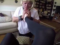 Foot worship vidz for Maitresse  super ALEX