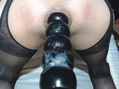 gape fart vidz with big  super dildo 3